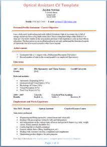 free resume template word australia png cover letter for optical sales assistant