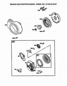 Briggs And Stratton Recoil Starter Assembly Diagram