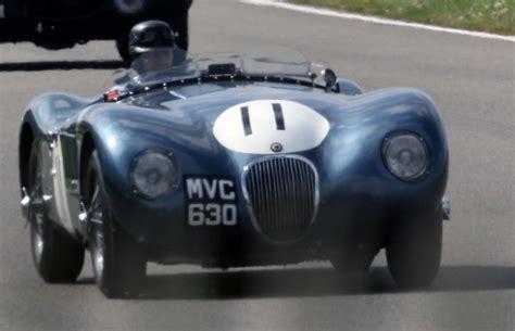 Classic Jaguars Race Round Goodwood Motoring Circuit As