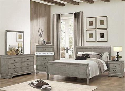 phillips grey bedroom set la sierra furniture