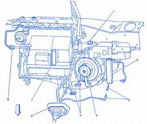 Pontiac Acadian 1987 Blower Motor Electrical Circuit Wiring Diagram