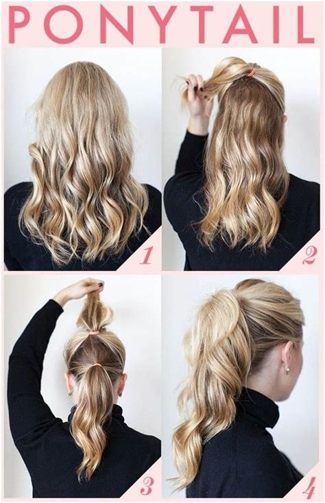 Cool Easy Ponytail Hairstyles by 15 And Easy Ponytail Hairstyles Tutorials Easy Hair