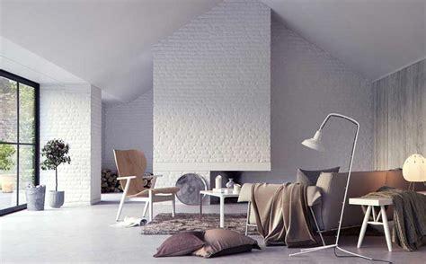 Z&m Home Design : белая кирпичная стена фото