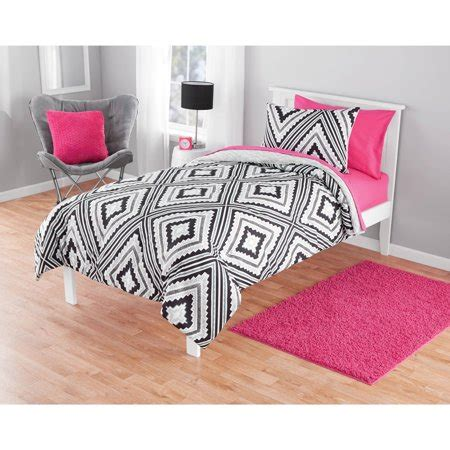 Aztec Comforter Set by Your Zone Geo Aztec Comforter Set 1 Each Walmart