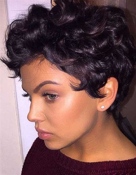 cute short curly hairstyles short hairstyles haircuts