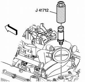 Where Is The Oil Sensor Found On A 2004 Avalance Chev