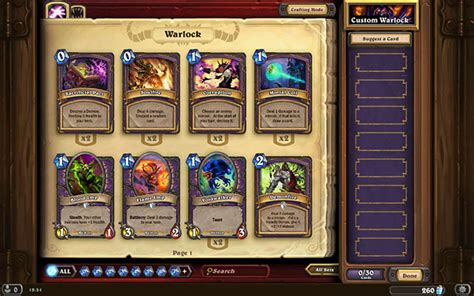 hearthstone decks basic warlock ready made decks hearthstone heroes of