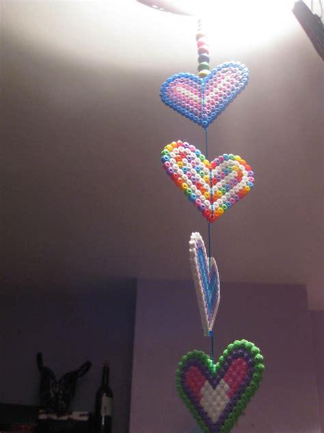 hama bead mobile  mobile pegboard  cut