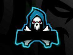 skull mask esports logo mascot logos esports logo