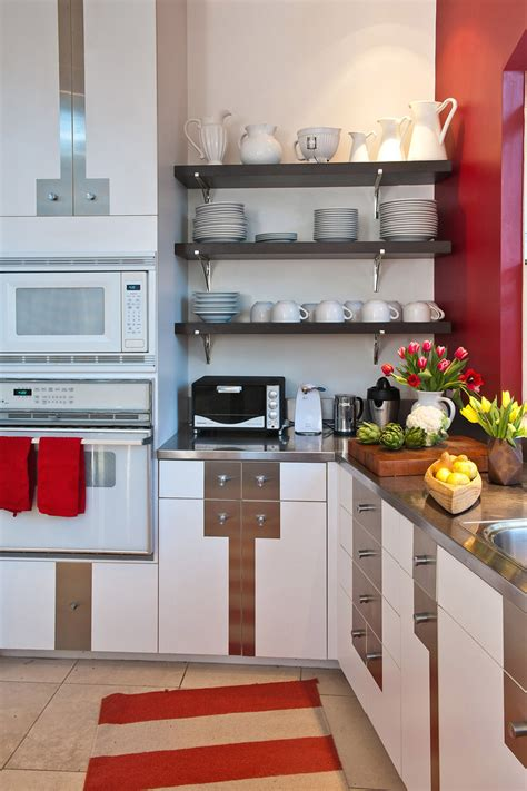 kitchen and cabinets open shelving kitchen kitchen eclectic with backsplash 2173