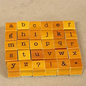 mini rubber alphabet stamps by the wedding of my dreams With alphabet letter stamps
