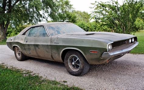 1970 Dodge Challenger R/T Barn Find