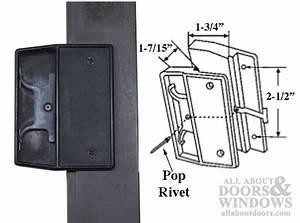 Non-handed Latch  U0026 Pull For Sliding Screen Door