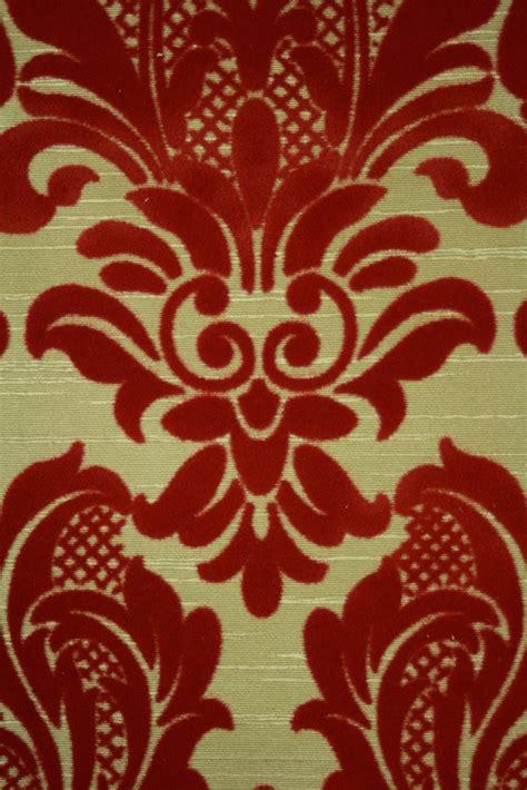 red flocked wallpaper wallpapersafari