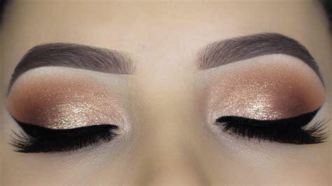 easy soft glam eye makeup tutorial youtube