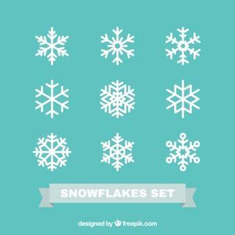 Cetakan Salju Frozen Stencil snowflakes vectors photos and psd files free