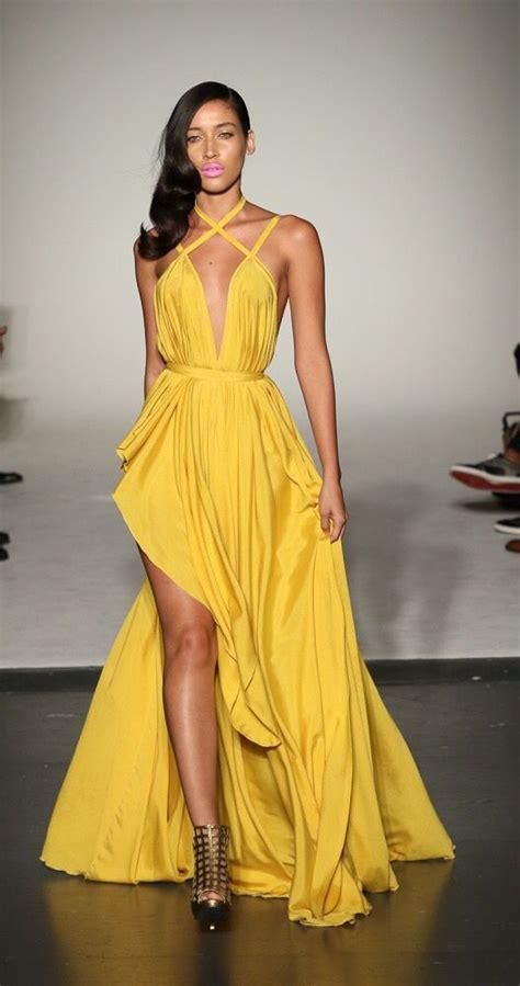 #MichaelCostelloSS16 | Yellow fashion, Michael costello ...