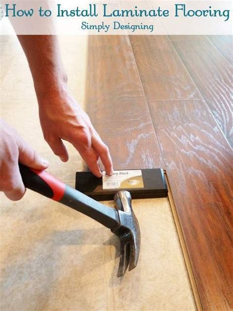 install floating laminate wood flooring part