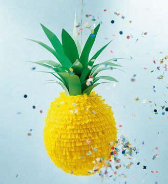 pinata basteln anleitung ananas pinata f 252 r die n 228 chste bastelanleitung via makerist de hsk αποκριατικο πάρτυ