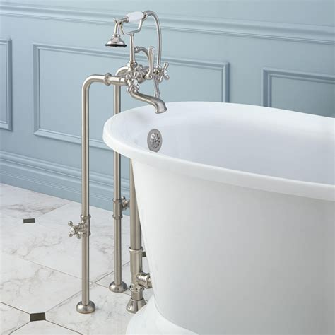 Bathroom Tub Fixtures by Freestanding Telephone Tub Faucet Supplies Valves And
