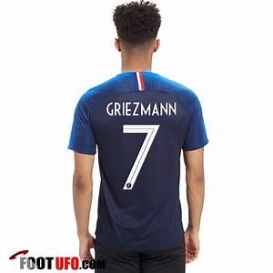 Maillot Griezmann France : nouveau maillot france coupe du monde 2018 griezmann 7 ~ Melissatoandfro.com Idées de Décoration