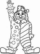 Clown Coloring Drawing Pages Faces Printable Face Getdrawings sketch template