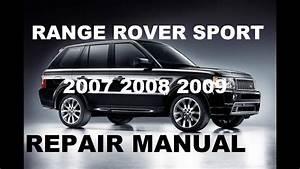 Range Rover Sport 2007 2008 2009 Repair Manual