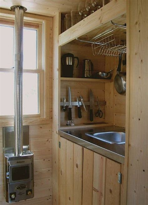 cabin kitchen cabinets 51784 best small house addict images on tiny 1904