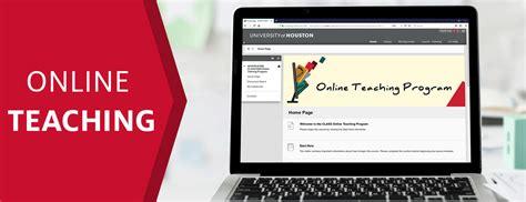 Online Teaching - University of Houston