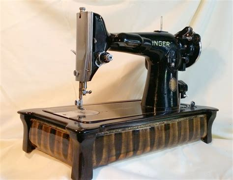 singer sewing machine wood base custom sewing machine