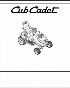 Cub Cadet I1046  I1050  I1050 User Manual
