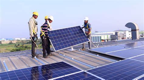 india transforms market  rooftop solar