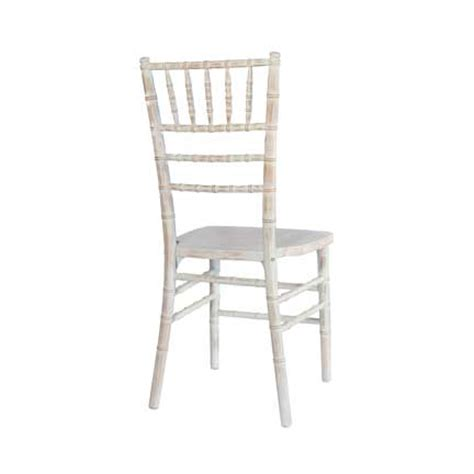 chiavari chair white washed rental for your wedding