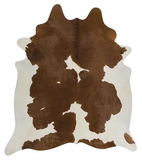 Cowhide Australia by Cow Hide Brown White Floor Rug The Gilded Pear Australia