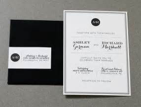 black wedding programs modern wedding invitations crafty pie press