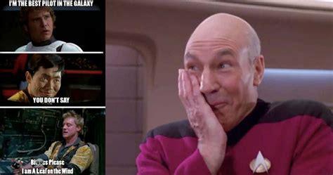 Star Wars Star Trek Meme - 15 star trek vs star wars memes that will have you on the floor laughing