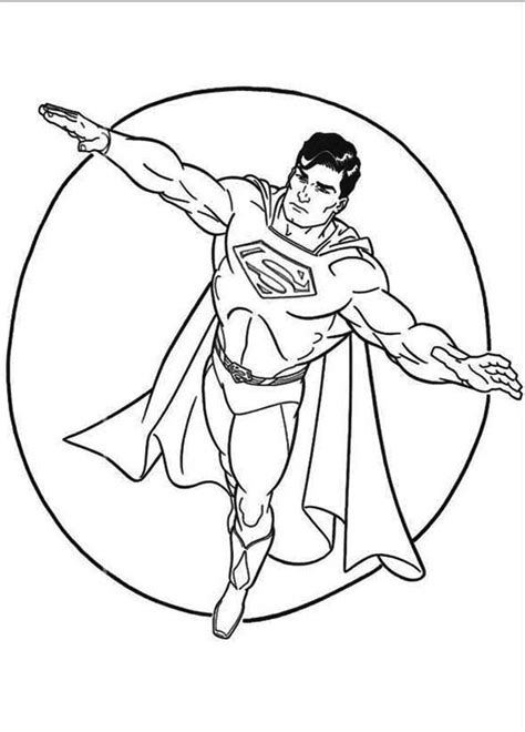 superman coloring pages coloringpages