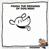 Coloring Dog Dogman Pilkey Unleashed Dav Drawing Printables Underpants Captain Widget Artistic Touch Sdk Popjam 9th Cartoon Theseacroft sketch template
