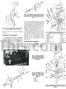 ford    repair manuals set tractor