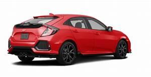 2019 Honda Civic Sport Hatchback Red