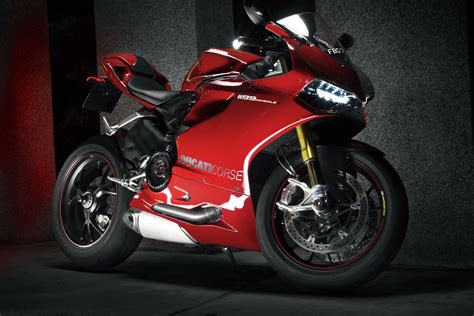Ducati, Ducati 1199 Panigale, Motorcycle, Red