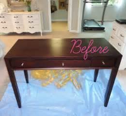 Plexiglass Sofa Table by Livelovediy Diy Thrift Store Desk Makeover Using Silver
