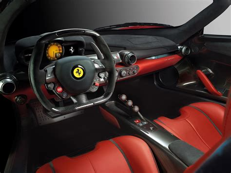 Ferrari Laferrari Interior Supercar Car Italy Red Sport-gt