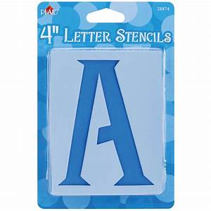 plaid craft mailbox letter stencils 125214 create and With craft letter stencils