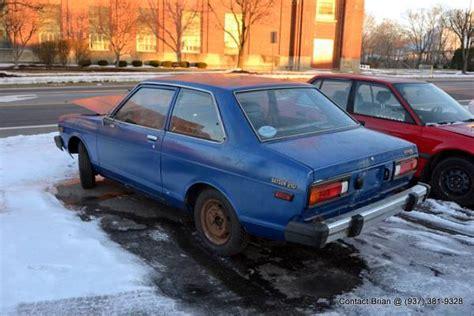 1980 Datsun B210 by 1980 Datsun B210 Hatchback Coupe For Sale In Piqua Ohio
