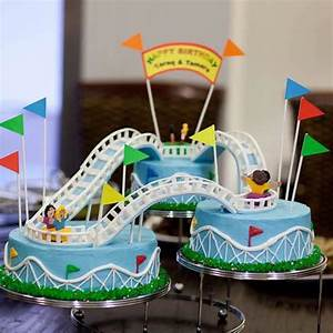Qatar Collections: Roller Coaster Cake