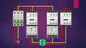 Star Delta Starter Power Circuit Wiring Diagram