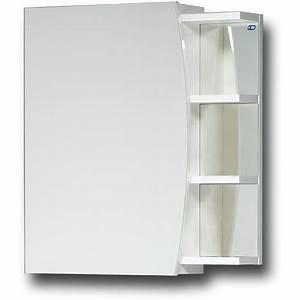 Badezimmer Spiegel Schrank : elza bad spiegelschrank 50 cm einseitig verspiegelt mit ablage und soft close badezimmer schrank ~ Markanthonyermac.com Haus und Dekorationen