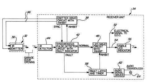 chamberlain garage door sensor wiring diagram collection wiring diagram sle