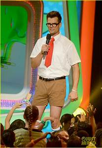 Josh Duhamel: Slime Covered Host at Kids' Choice Awards ...